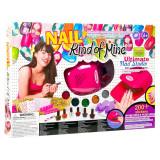 Kit complet manichiura pentru copii Nail Studio, accesorii incluse