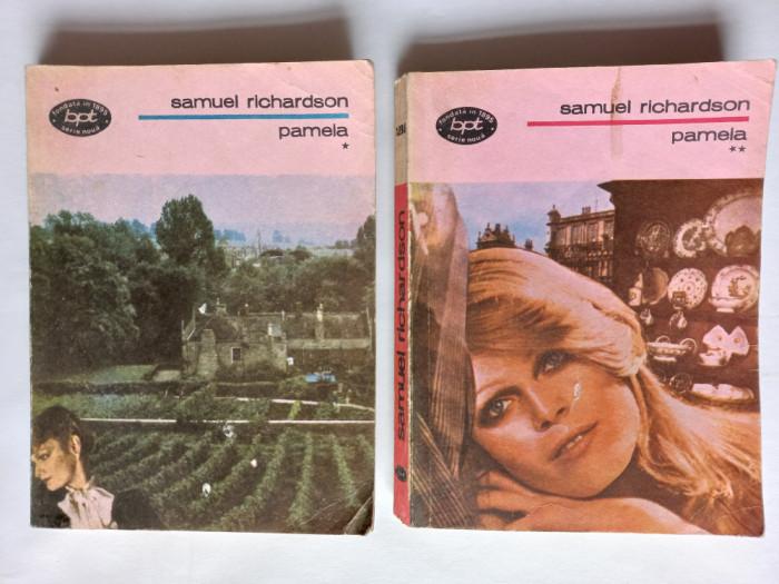 PAMELA SAU VIRTUTEA RASPLATITA, VOL. I+II- SAMUEL RICHARDSON, 2 VOLUME, 1987