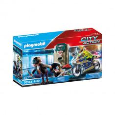 Playmobil City Action - Urmarirea hotului de banci