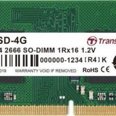 Memorie laptop Transcend JM 4GB (1x4GB) DDR4 2666MHz CL19