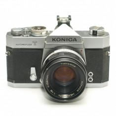 Konica Autoreflex T + obiectiv Konica Hexanon 52mm f1.8