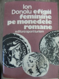 Efigii feminine pe monedele romane