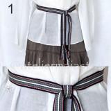 Cumpara ieftin Brau tesut manual, brau tesut la razboi, curea handmade, cadou traditional