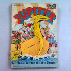 REVISTA JUPITER NR.20 (REVISTA CU BENZI DESENATE, IN LIMBA GERMANA)
