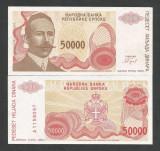 BOSNIA HERTEGOVINA  50000 50.000 DINARI    UNC  [1] P- 153 a  , necirculata