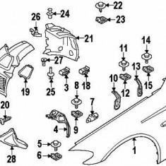 Capac carenaj roata fata dreapta BMW Seria 5 (F10) 5 (F11) 5 GRAN TURISMO (F07) 6 (F12) 6 (F13) 6 GRAN COUPE (F06) 2.0 4.4 intre 2009 2018