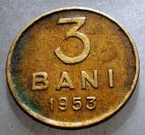 1.278 ROMANIA RPR 3 BANI 1953