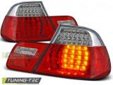 Stopuri LED Bmw E46 04.99-03.03 COUPE Rosu Alb LED