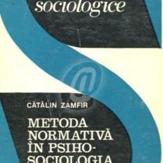 Metoda normativa in psihosolciologia organizarii