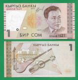 KYRGYZSTAN - 1 SOM - 1999 - UNC =
