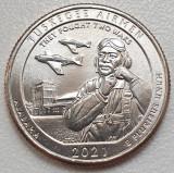 25 cents / quarter 2021 USA, Alabama, Tuskegee Airmen, unc, litera P sau D, America de Nord