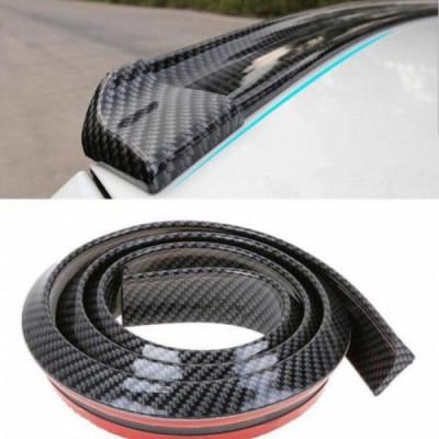 Eleron din cauciuc tip M - Carbon - Compatibil cu orice marca de masina foto