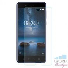Geam Folie Sticla Protectie Display Nokia 8 Tempered