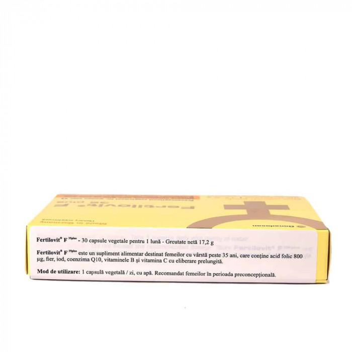 Fertilovit F 35 plus, 30 capsule, Gonadosan