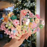 Cumpara ieftin Bentita cu floricele (Model: 2)