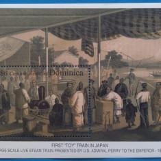 DOMINICA -Primul tren pitic in Japon-Colita-MNH