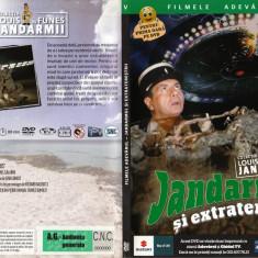 Jandarmul si extraterestrii_Louis de Funes_film pe DVD_colectia Adevarul