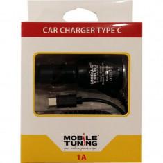 Incarcator auto Mobile Tuning type C 1000 mAh blister