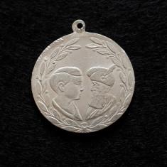 Medalie / medalion Regele Mihai - Mihai Viteazul - 1929 - Marea Unire