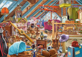 Puzzle Castorland 500 The cluttered attic