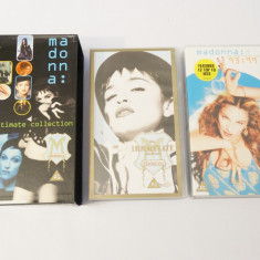 Casete video VHS originale muzica - Madonna - The Ultimate Collection