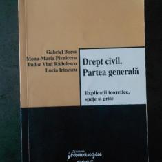 GABRIEL BOROI - DREPT CIVIL. PARTEA GENERALA (2008)