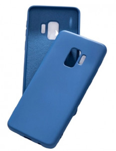 Huse silicon antisoc cu microfibra in interior Samsung S9 ; S9 Plus