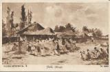 Carte postala Hora Ebosa Theodor Aman colectia artistica nr 16, Necirculata, Printata