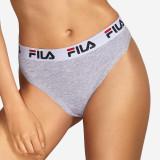 Chilot damă FILA Underwear String, gri