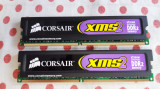 Kit Memorie Ram Corsair 4 GB (2X2) DDR2 800Mhz Desktop., DDR 2, Dual channel