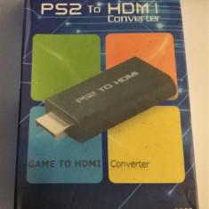 Adaptor PS2-HDMI, permite conectarea Playstation 2 la un TV cu HDMI!