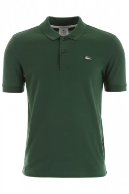 Tricou barbat LACOSTE, Lacoste polo shirt with embroidered logo PH8004 CW 132 Verde foto