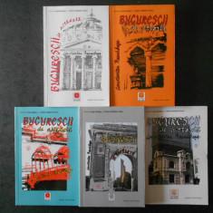 CONSTANTIN BACALBASA - BUCURESTII DE ALTADATA 5 volume, seria integrala