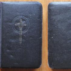 Painea ingerilor ; Carte de rugaciuni in germana ,1930 , din Ardeal , leg. piele