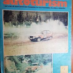 revista autoturism aprilie 1989