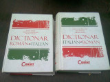 DICTIONAR ROMAN ITALIAN, ITALIAN ROMAN - ILEANA TANASE