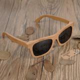Cumpara ieftin Ochelari de soare din lemn Bobo Bird BG003, lentila gri