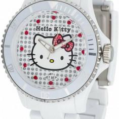 Ceas Hello Kitty Nichinan White HK1464-041