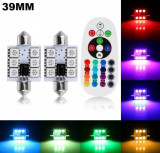 Set Led Plafoniera (Sofit) 39 MM 6SMD RGB