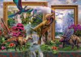 Puzzle Schmidt - 1000 de piese - KRASNY : DINOSAURS - COMING TO LIFE