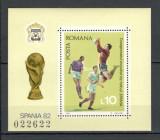 Romania.1981 C.M. de fotbal SPANIA-colita  HR.432