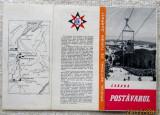 "Postavarul Brasov - ONT ""Carpati"". Pliant turistic din anii '60."