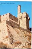 AD 1118 C. P. VECHE -IERUSALEM - THE CITADEL -IERUSALIM -ISRAEL, Necirculata, Printata