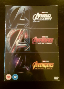 Filme Marvel Avengers DVD BoxSet Complete Collection