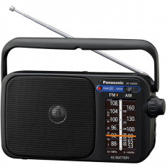 Radio portabil Panasonic RF-2400DEG-K FM / AM Negru