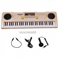 Orga electronica 61 de clape USB MP3 Microfon Bigfun BF630D