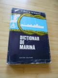 A. BEJAN--DICTIONAR DE MARINA - 1979