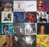 Vinyl Creedance,Marc Almond,Evita,Wishbone Ash,Simple Minds,Paul Anka,Miami Vice, VINIL
