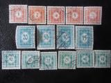 Austria-timbre Porto 1922-serie completa-stampilate, Stampilat