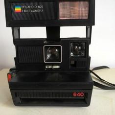 Aparat foto vintage, colectie,  Polaroid 640 (600 Land Camera)